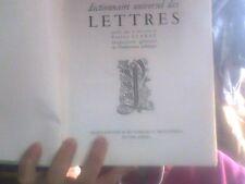 Dictionnaire universel des lettres Litterature universelle Focus S.E.D.E Bordas