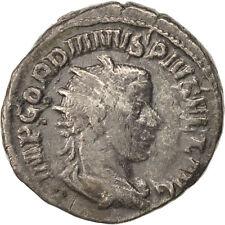 [#403193] Gordian III, Antoninianus, 244, Roma, VF(30-35), Billon, RIC:143