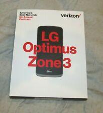 LG Optimus Zone 3 - 4G LTE Smartphone - Verizon Prepaid - NEW
