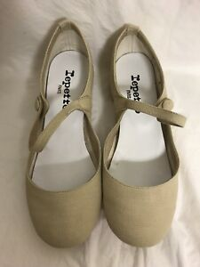 Repetto Belinda Baby Sable 37 V458TO 345 NEW IN BOX