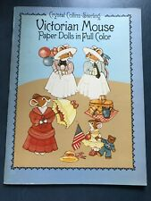 Victorian Mouse Paper Dolls Crystal Collins-Sterling