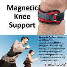MAGNETIC Knee Patella Support Strap Brace Injury Therapy - Restless Leg Syndrome