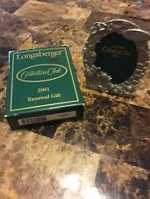 Longaberger Collectors Club 2001 Renewal Gift-Small Picture Frame