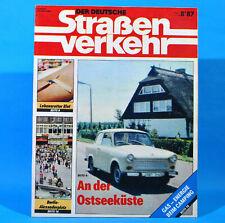 Der Deutsche Straßenverkehr 8/1987 Ribnitz-Damgarten Velorex 700 Bautzen M13
