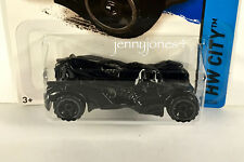 2015 New Hot Wheels VHTF Black #61 BATMAN ARKHAM KNIGHT BATMOBILE