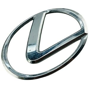 2002 2003 2004 Lexus ES300 Emblem Logo Symbol Badge Engine Cover Chrome OEM