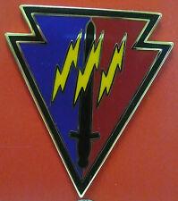 US ARMY 219TH BATTLEFIELD SURVEILLANCE CSIB COMBAT SVS IDENTIFICATION BADGE NEW