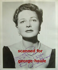 CORAL BROWNE - 8X10 - VTG - INSCRIBED - AUNTIE MAME - VINCENT PRICE
