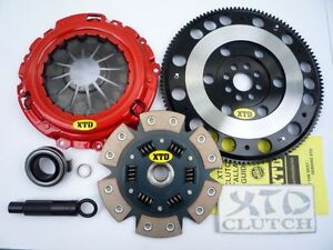 XTD STAGE 3 PADDLE CLUTCH & FLYWHEEL HONDA 02-07 INTEGRA CIVIC TYPE-R EP3 K20A