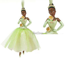 NEW Disney Store Princess and the Frog TIANA Christmas Holiday Ornament 2012