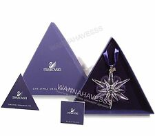 SALE SWAROVSKI 2005 large annual snowflake ornament new in inner and outer box!!
