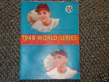 1948 WORLD SERIES PROGRAM & GAME 4 TICKET STUB