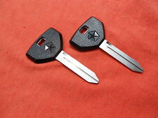 2 Dodge Plymouth Chrysler Oem Key Blanks 1994 1995 1996 1997 1998 1999 (Fits: Plymouth Acclaim)