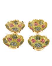 Handmade Brass Dinnerware Bowls