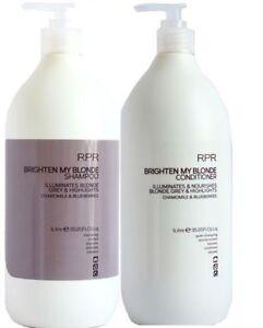RPR Blonde Brighten My Blonde Shampoo & Conditioner 1 Litre Duo