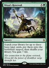 Nissa's Renewal Rare Battle for Zendikar ~~~ MINT ~~~ UNPLAYED MTG Magic