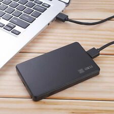 "1x USB3.0/2.0 2.5"" SATA HDD SSD Enclosure Mobile Hard Disk Case Box for Laptop"