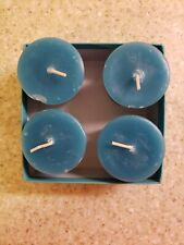 Honey Candles 100% Beeswax Votive Candles - Set of 4