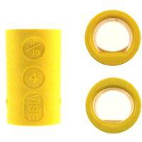 2er Set Vise Grip Ultimate Power-Lift Finger Inserts yellow Bowlingball Einsätze