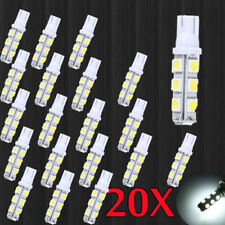 20pcs Super White T10 Camper 13-SMD 5050 Car Interior LED Light Bulbs Hot Sale