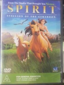 SPIRIT - Stallion of the Cimarron  (DVD, 2002) Region 2,4