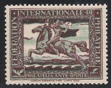 Österreich 1929, Ludwig Hesshaimer Vignette Postreiter postfrisch