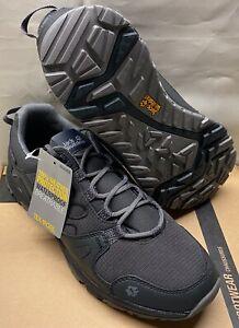 Jack Wolfskin Schuhe Sneaker Activate Texapore Low Men Grau Phantom Trekking