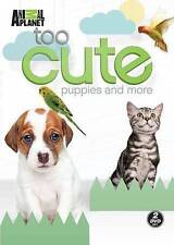 Too Cute Puppies and More (DVD, 2014, 2-Disc Set)  Animal Planet  Brand New