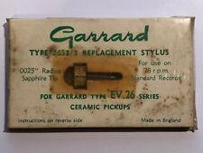 Original Stylus Needle GARRARD Type EV26 / 26S3/3