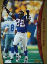 NFL 157 Phillippi Sparks New York Giants Topps 1998