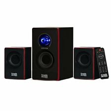 Stereo Bass System Home Audio Shelf Sound Speakers Radio Wireless Bluetooth