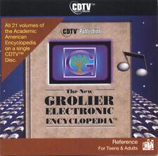 The New Grolier Electronic Encyclopedia Commodore Amiga CDTV