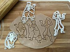 Disney Hitchhiking Ghost Cookie Cutters/Set of 3