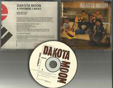 DAKOTA MOON A Promise I make w/ RARE EDIT & AUDIO BIO PROMO DJ CD single 1997