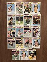 1977 Topps Baseball Partial Team Set San Diego Padres 21 Cards Winfield, Jones
