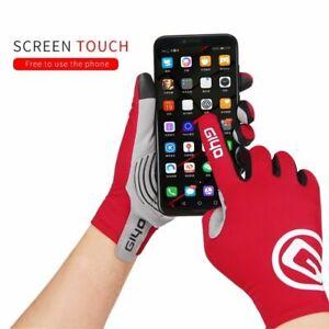 Cycling Full Finger Gloves Anti-slip Touch Screen
