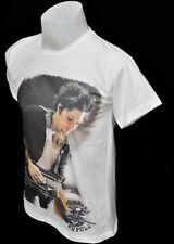 White crew t-shirt Synyster Gates A7X punk rock cotton CL tee size L