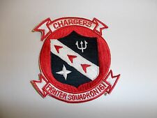 b8945 Vietnam US Navy VF 161 Chargers red Fighter Ron IR28D