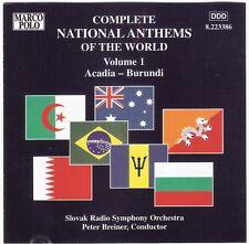 COMPLETE NATIONAL ANTHEMS Vol.1 Acadia-Burundi CD '96 australia marco polo 31trx