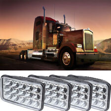 4Pcs LED Headlight Sealed Beam For FREIGHTLINER FLD 120 FLD 112 Kenworth W900L