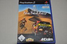 Playstation 2 Spiel - Paris Dakar Rally - Racing - komplett Deutsch PS2 OVP