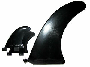 SUP STAND UP PADDLEBOARD LONGBOARD FIN CENTER SURFBOARD FCS FINS