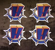 4 Lot Hamilton Bulldogs AHL NHL Hockey Jersey Shoulder Patches Crests B