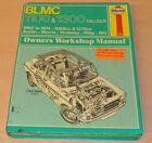BLMC 1100 1300  1962 - 1974 Reparaturanleitung Haynes Repair Manual