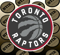 Toronto Raptors Logo NBA Die Cut Vinyl Sticker Car Window Hood Bumper Decal