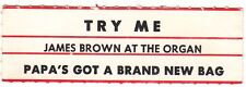 Juke Box Strip James Brown At The Organ - Try Me / Papa'S Got A Brand New Bag