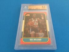 Gus Williams 1986 Fleer #124 BGS 9.5 Gem Mint