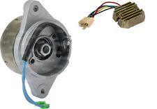 Alternador & regulador/rectificadores sustituto para Kubota 6a830-59250 + 15531-64601