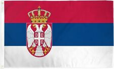 Serbian Flag 3x5 ft Republic of Serbia Country National Banner Belgrade Serb NEW