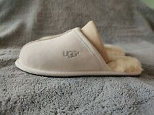 Ladies Ugg Scuff Slippers, UK size 3.5. Ivory Colour